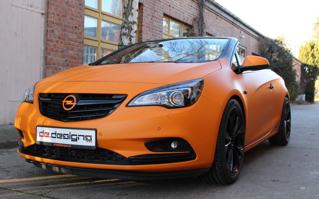 Opel Cascada Vollfolierung
